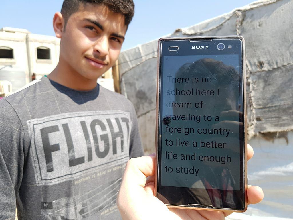 17-letni Ammar z Homs