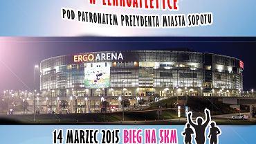 Plakat promujący bieg w Sopocie