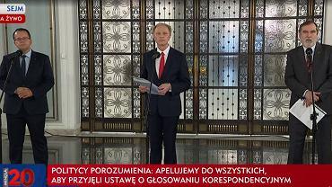 Konferencja posłów Porozumienia, 5 maja