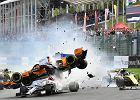 F1. GP Belgii dla Vettela. Wielka kraksa na starcie