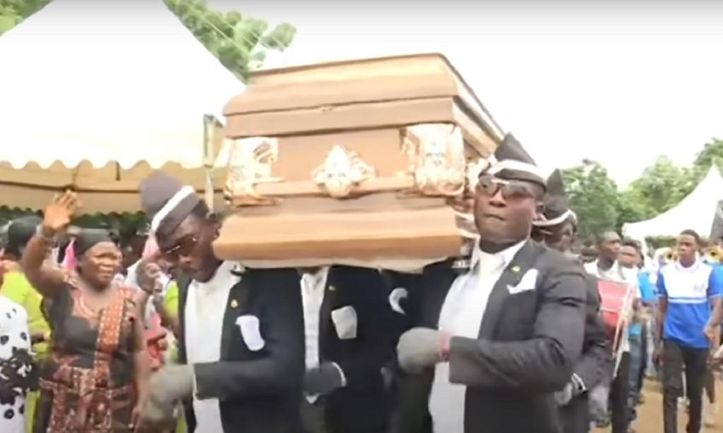 Żałobnicy z Ghany