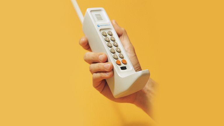 Prototyp telefonu komórkowego Motorola DynaTAC 8000X