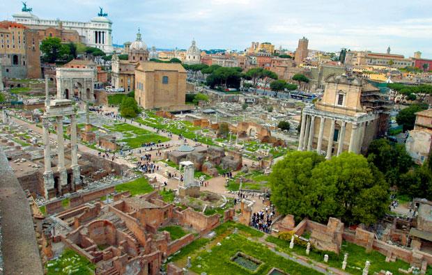 podróże, europa, Pomysł na weekend: Rzym pełen niespodzianek, Forum Romanum