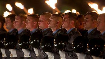 Bundeswehra podczas parady wojskowej 11.09.2014