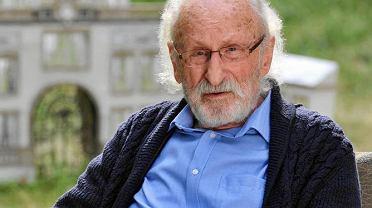 Franciszek Pieczka. Kadr z filmu 'Syn Królowej Śniegu'