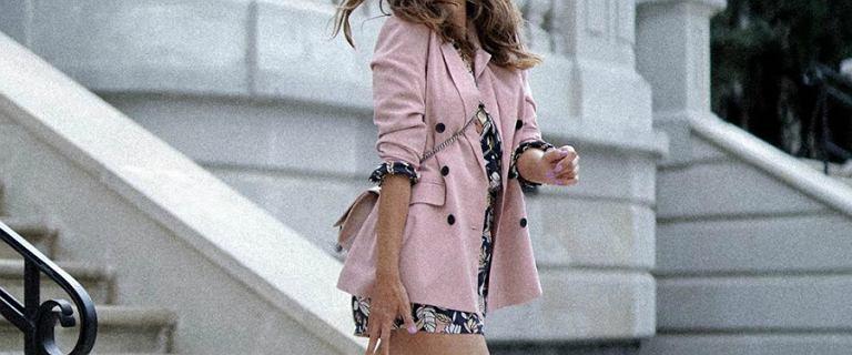 Anna Wendzikowska w różowej marynarce i sukience to nasza #stylizacjatygodnia!