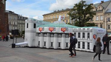 Sejm na Rynku Głównym w Krakowie