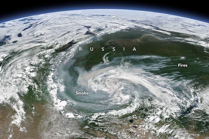 Wir dymu nad Rosją
