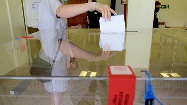 Wybory prezydenckie 2020. Głosowanie w Olsztynie