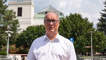 Przewodniczący SLD Włodzimierz Czarzasty, Warszawa, 29 lipca 2019