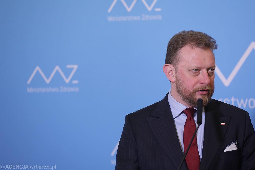 Koronawirus. Łukasz Szumowski na konferencji prasowej ogłosił powrót obostrzeń w 19 powiatach, w tym trzech z Podkarpacia