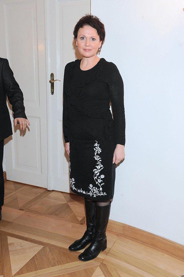 Małgorzata Pieńkowska w 2008