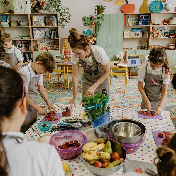 Zajęcia w ramach programu 'Dobrze jemy ze Szkołą na Widelcu'