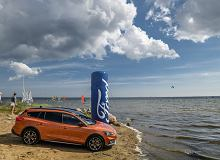 Ford lubi kitesurfing - Ford Focus Active Challenge