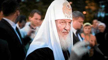 Patriarcha Moskwy i całej Rusi Cyryl w 2012 roku
