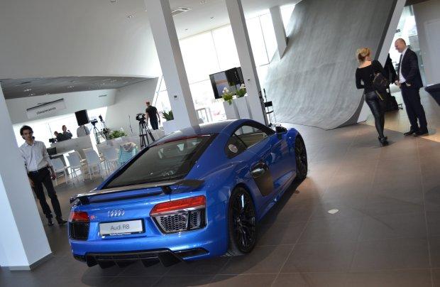Nowy salon Audi w Poznaniu