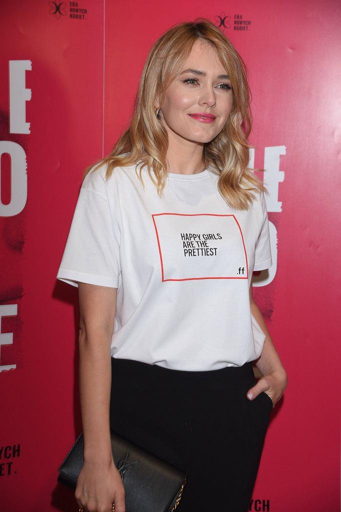 Magdalena Lamparska wspiera kobiety