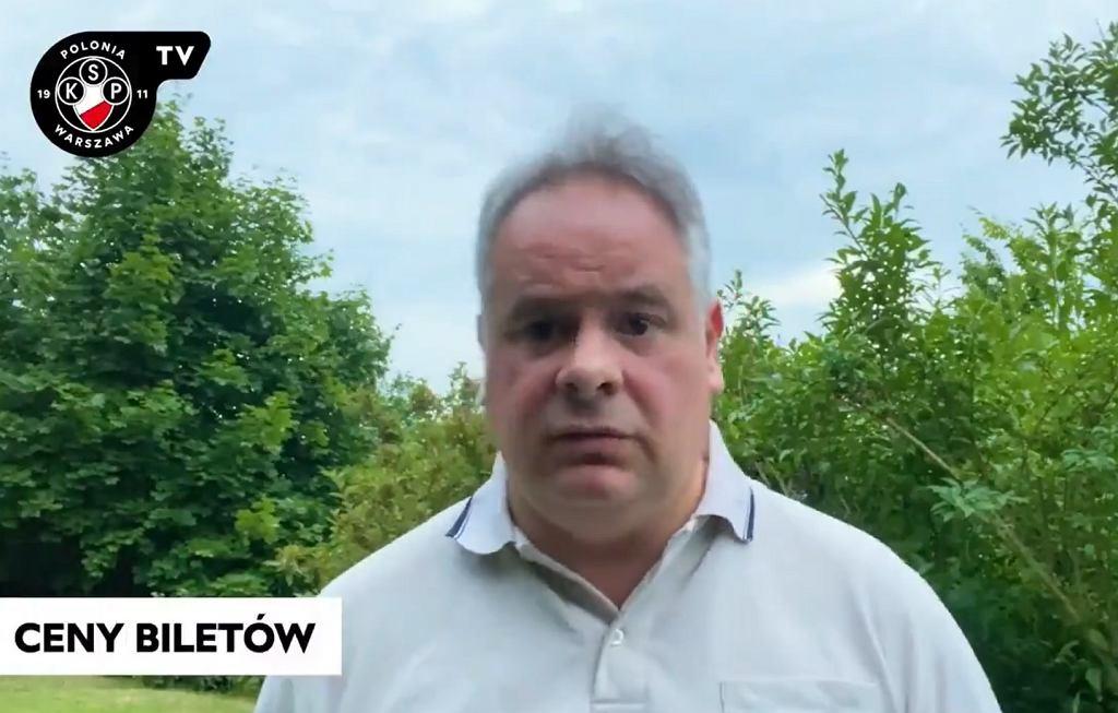 Prezes Polonii Warszawa