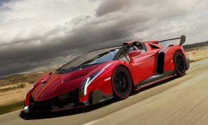 Lamborghini Veneno Roadster   Dziewięć