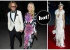 Huczne otwarcie wystawy The Glamour of Italian Fashion! Na przyjęciu gwiazdy, supermodelki, topowi projektanci oraz Rita Ora z siwymi włosami [ZDJĘCIA]