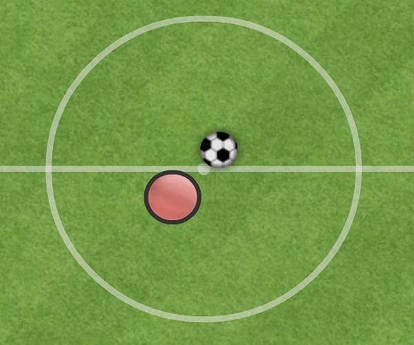 Samotna piłka nożna