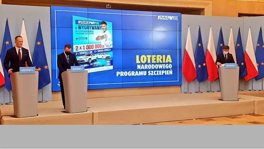 Loteria Narodowego Programu Szczepień zaczyna się 1 lipca