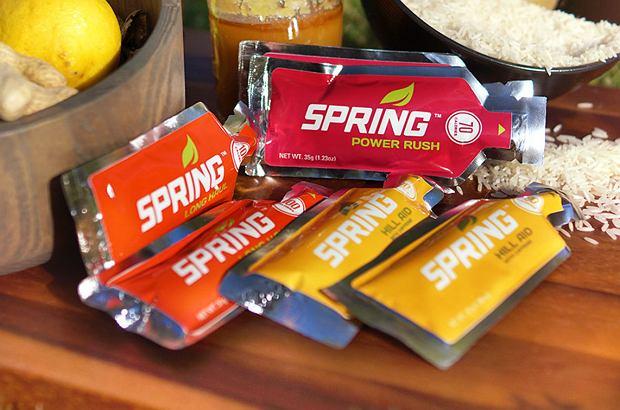 żele energetyczne Spring