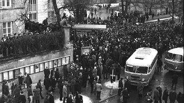 Strajki, marzec 1968 r.