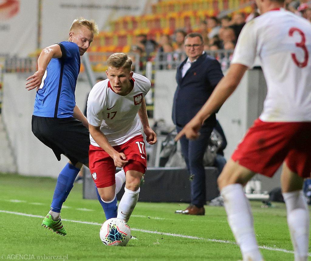 Eliminacje młodzieżowych mistrzostw Europy, Polska - Estonia 4:0. Mateusz Bogusz