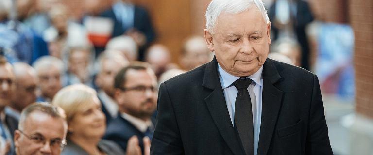 Kaczyński straszy
