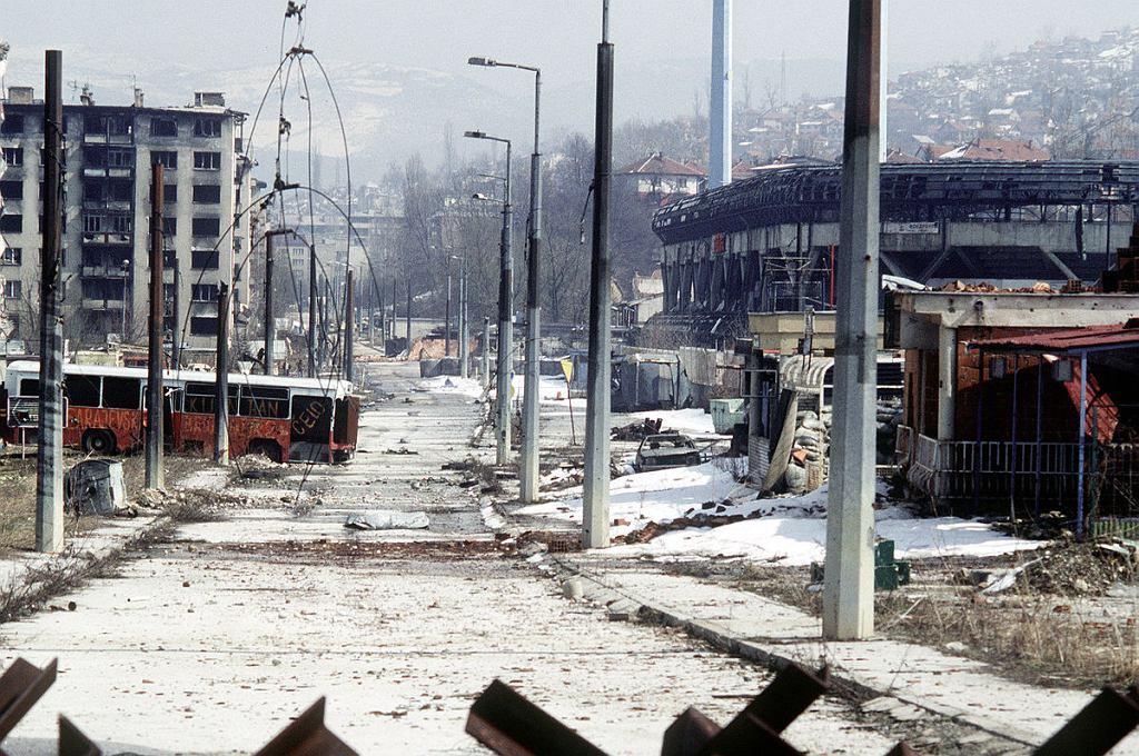 Sarajewo w 1996 roku