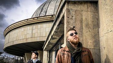 Marcin Zasada i Marcin Nowak, autorzy filmu o architekturze Katowic
