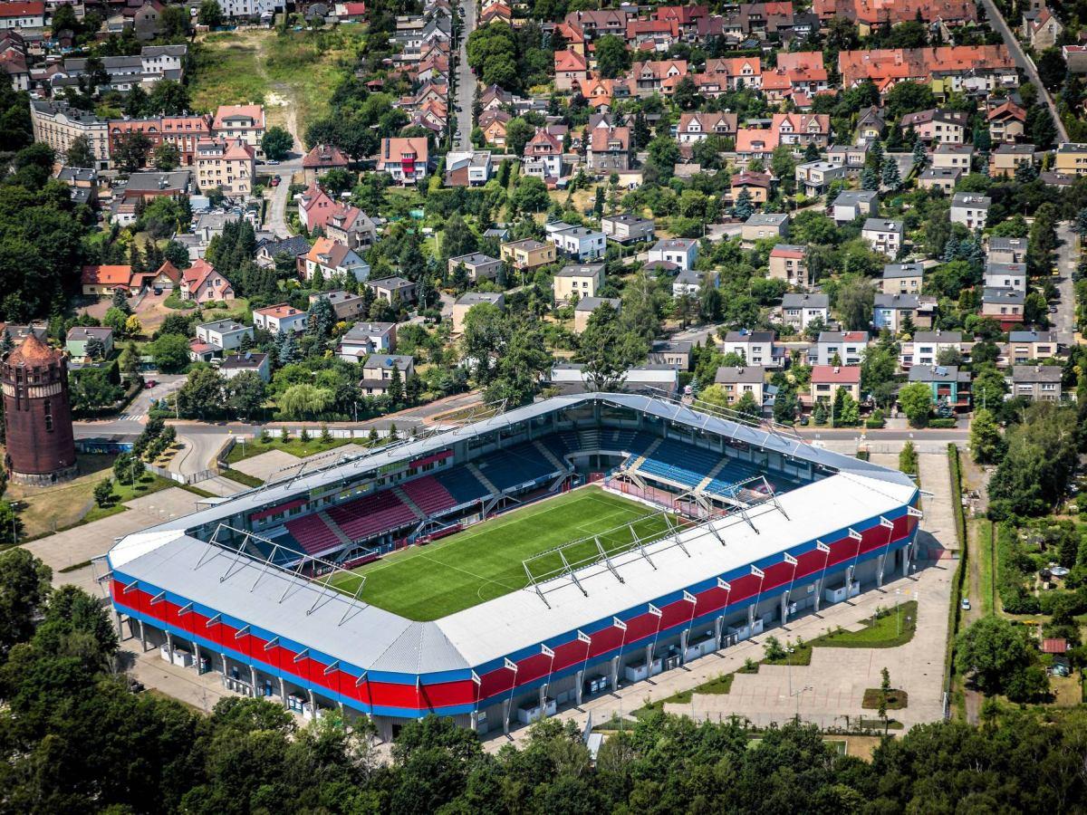 Przy stadionie Piasta Gliwice powstanie parking dla kibiców. Odciąży  miejsca na pobliskim osiedlu?