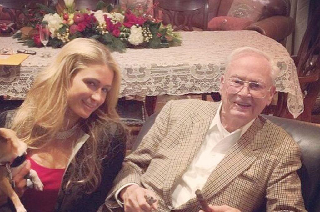 Barron Hilton nie żyje. Paris Hilton pożegnała dziadka