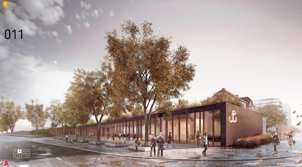 Rewitalizacja Muzeum Powstania Warszawskiego - I MIEJSCE, projekt Pracowni Nizio Design International