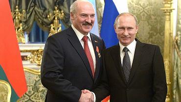 Aleksandr Łukaszenko i Władimir Putin