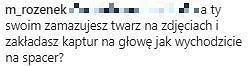 Odpowiedź Małgorzaty Rozenek na komentarz fanki
