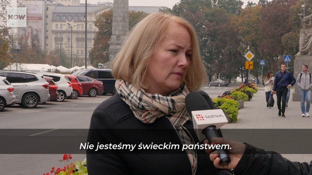 Na ulicach Warszawy pytaliśmy, czy Polska jest świeckim państwem