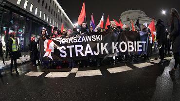 'Czarny protest' po głosowaniach ws. aborcji