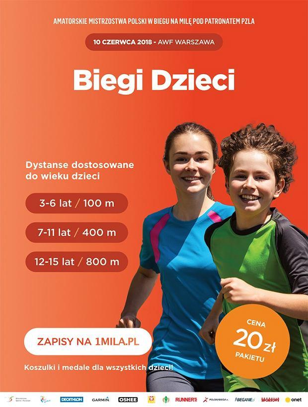 Amatorskich Mistrzostw Polski w biegu na milę