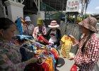 Kambodża podnosi pensje dla pracowników branży odzieżowej