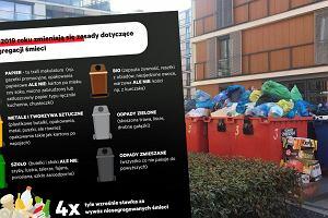 Od 2019 roku nowe zasady segregacji śmieci. Czytelnicy: Jak pomieścić te wszystkie worki