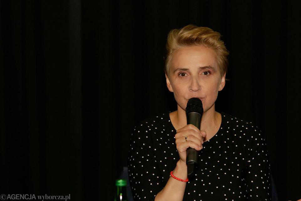 Wybory parlamentarne 2019, debata w hotelu Bulwar. Joanna Scheuring-Wielgus