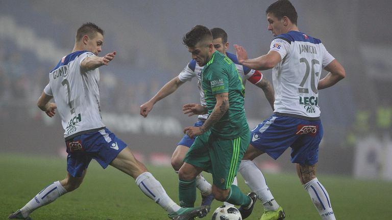 Mecz Lech Poznań - Śląsk Wrocław rozegrany 12 grudnia 2018 r.