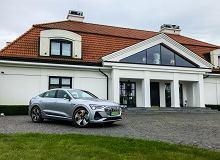 Opinie Moto.pl: Audi e-tron Sportback ma reflektory, które mają ponad milion luster i własne chłodzenie