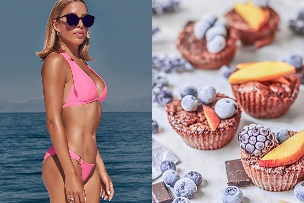 Ewa Chodakowska - przepis na czekoladowe muffiny