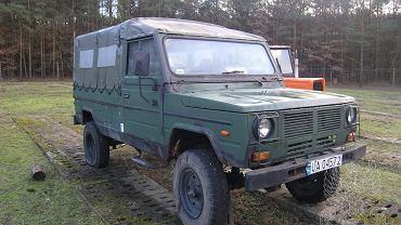 Pojazd wystawiony na aukcję Agencji Mienia Wojskowego