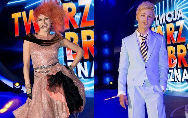 Basia Melzer jako Cyndi Luper i Marcin Przybylski jako David Bowie