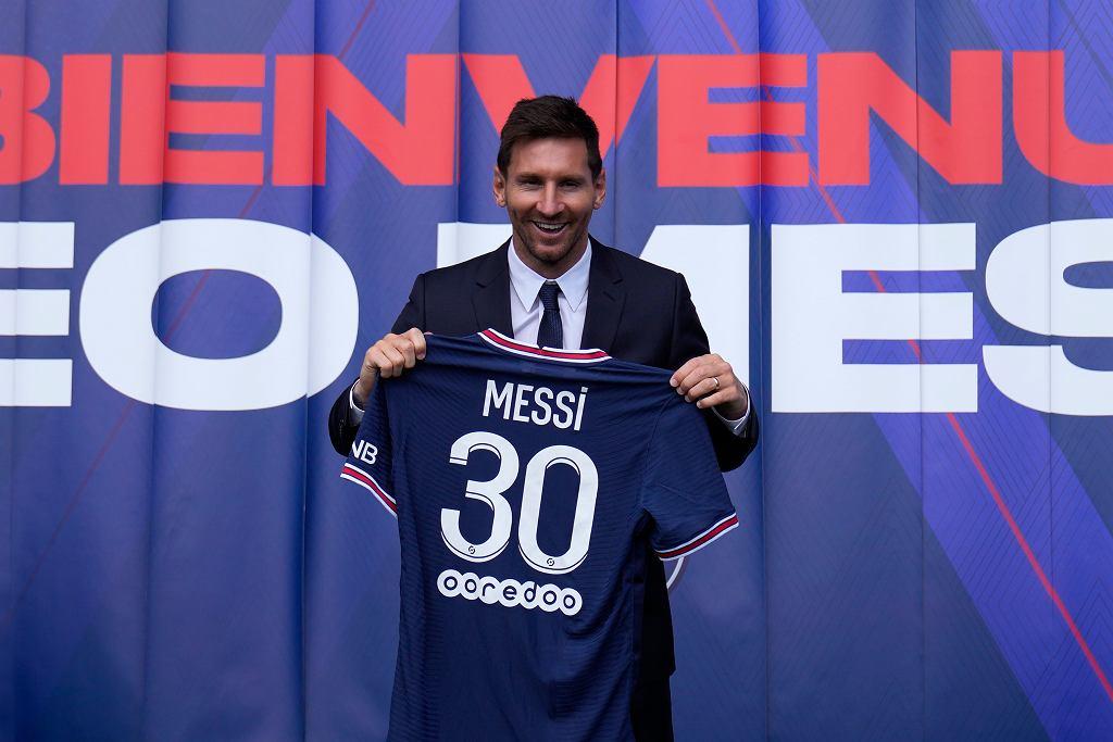 PSG dementuje plotki ws. koszulek Messiego. Rekord, ale nie tak imponujący