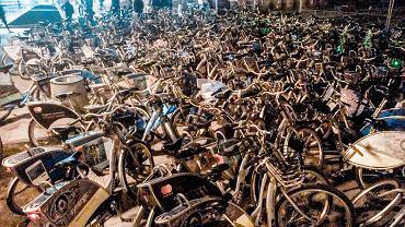Morze rowerów nad Wisłą